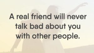 12 Signs of A True Friendship