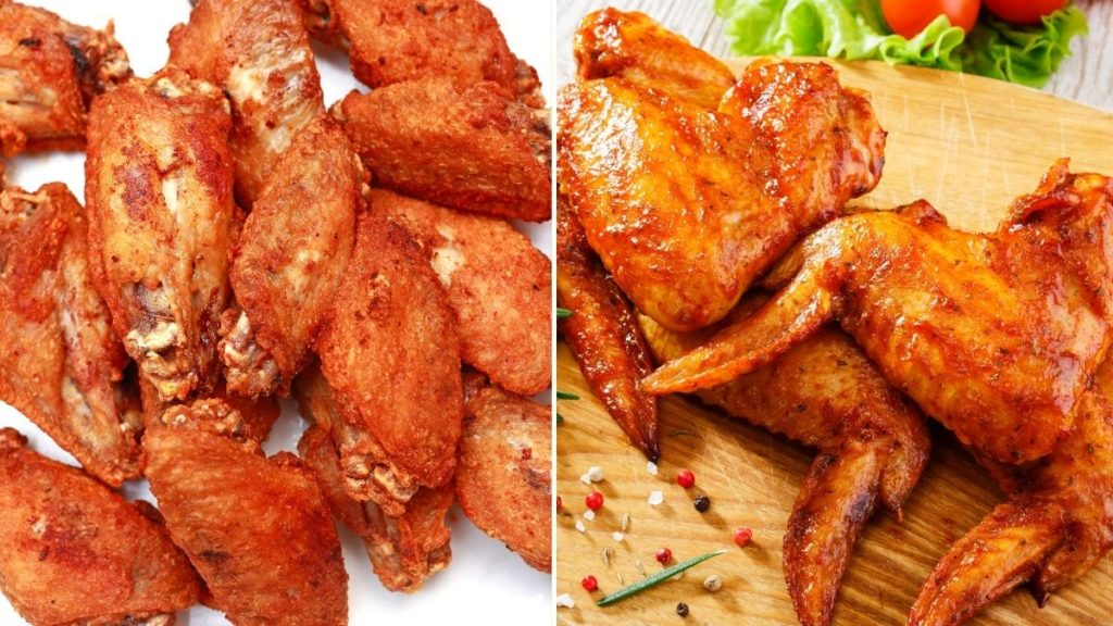How to make a delicious crispy air fryer frozen chicken wings recipe